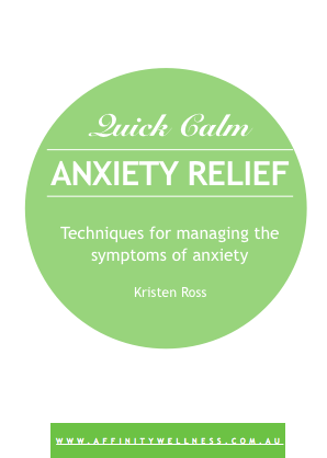 Anxiety Relief E-Book Kinesiology Melbourne