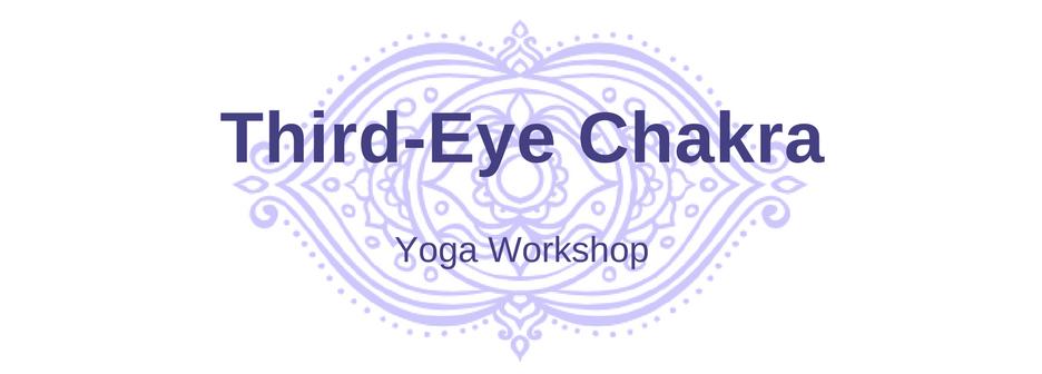 Third-eye chakra yoga workshop